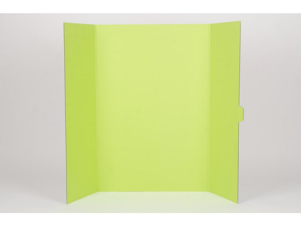 Projektová tabule 120 x 90 cm, bílo-zelená
