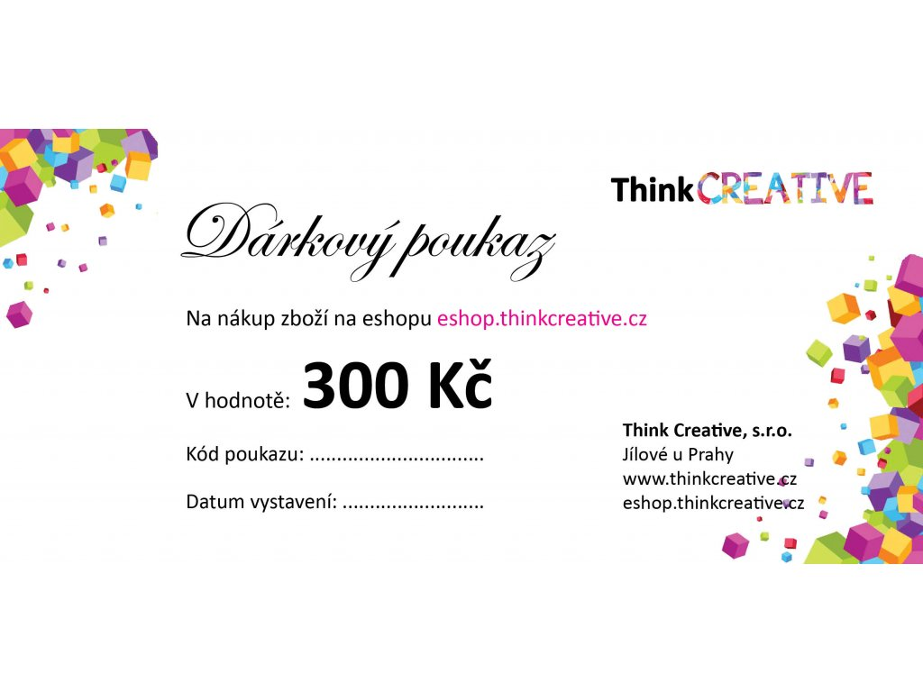 Think Darkovy poukaz 300 (2)