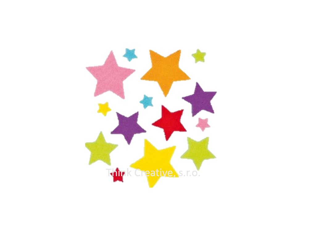 hvezdicky filc