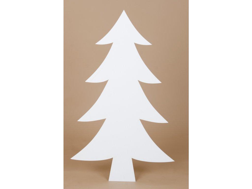 Strom (1ks) - 80 cm - smrk - kartonovy vyrez - II. jakost
