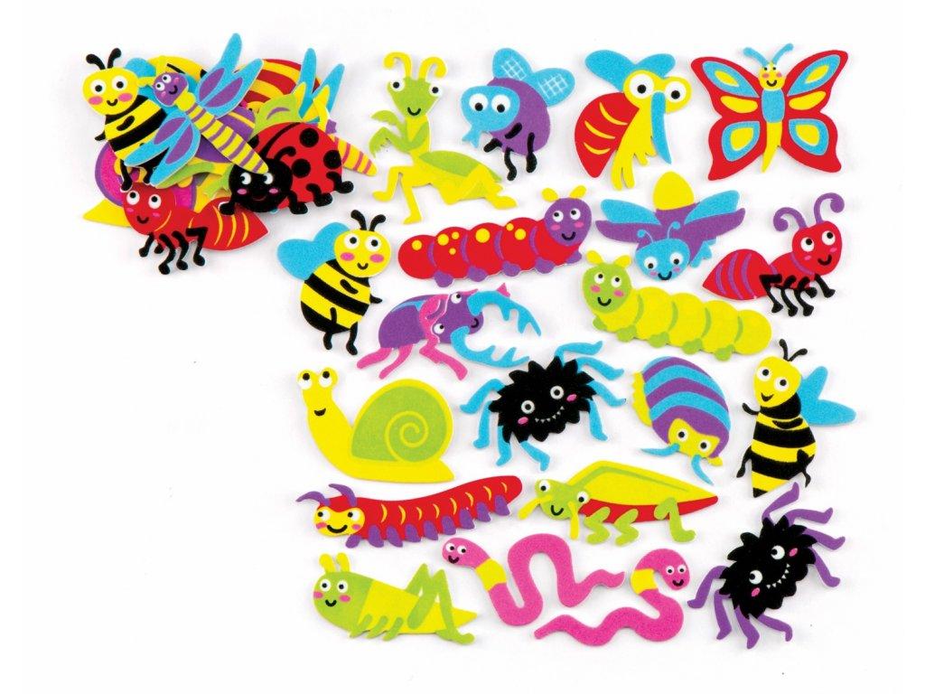 Hmyz samolepky 2