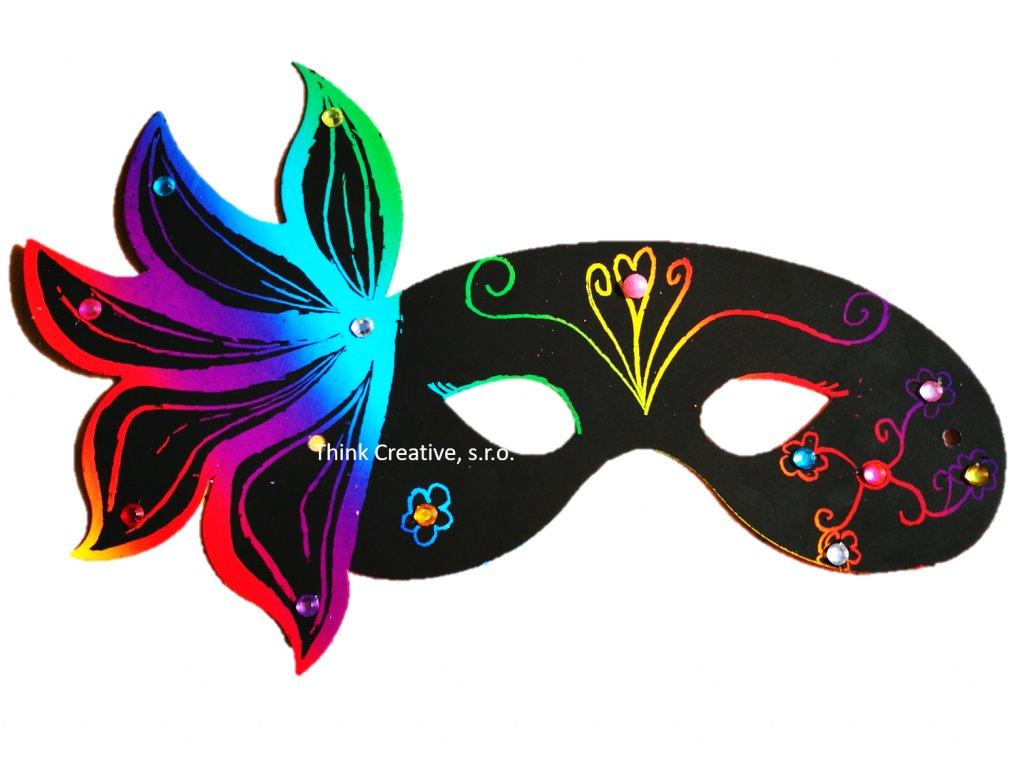 Maska karnevalova Think Creative