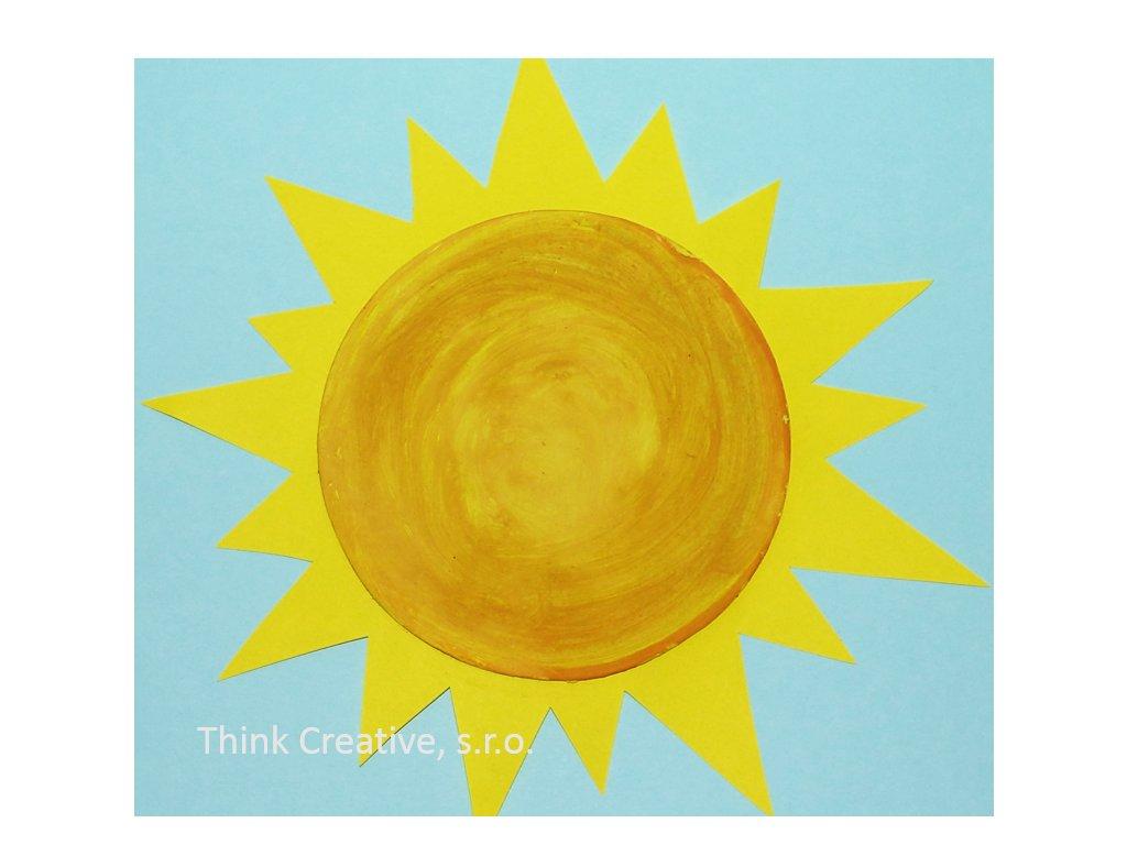 kruh slunce