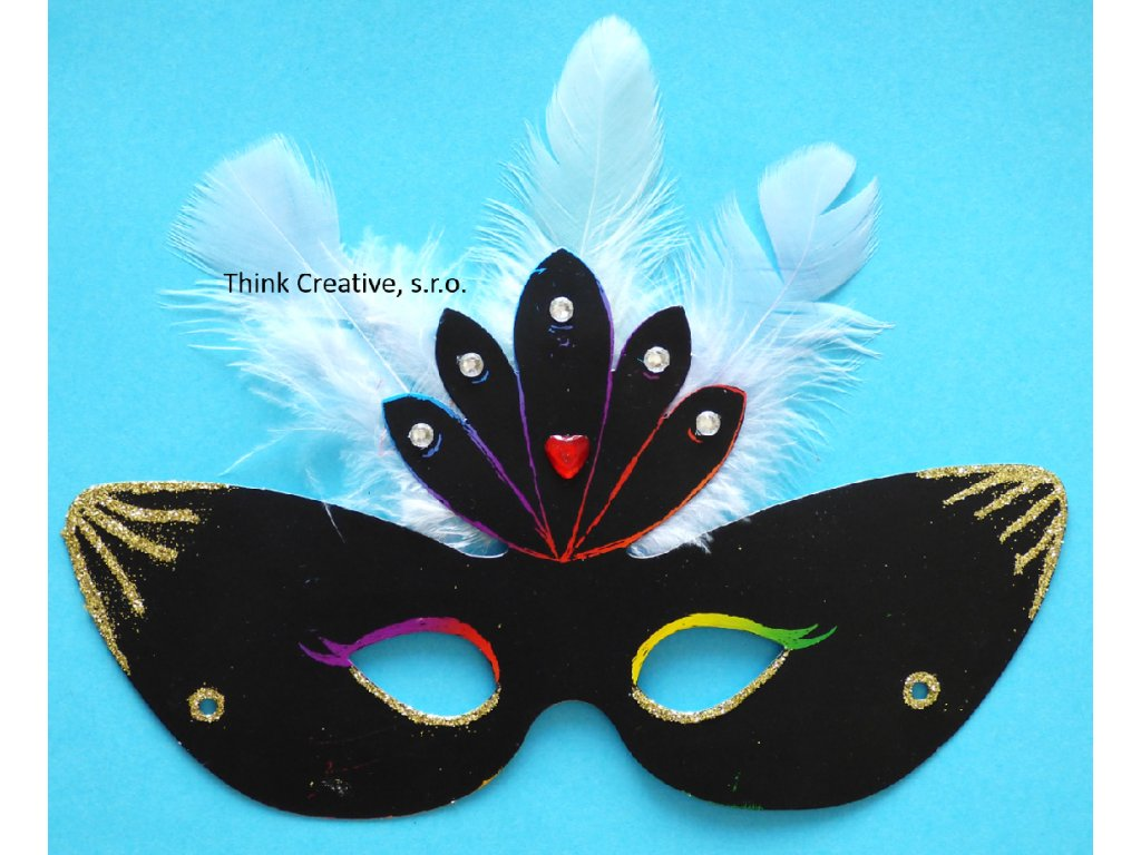 Maska vyškrabávací Think Creative, s.r.o.