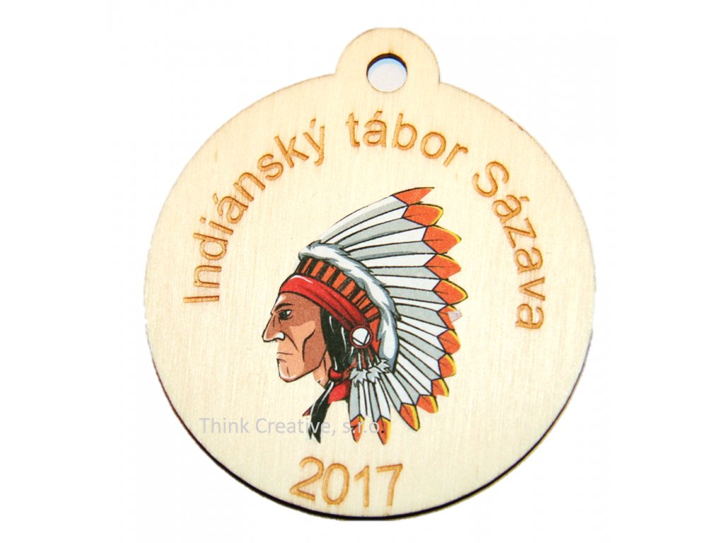 Medaile Indiáni Think Creative, s.r.o.