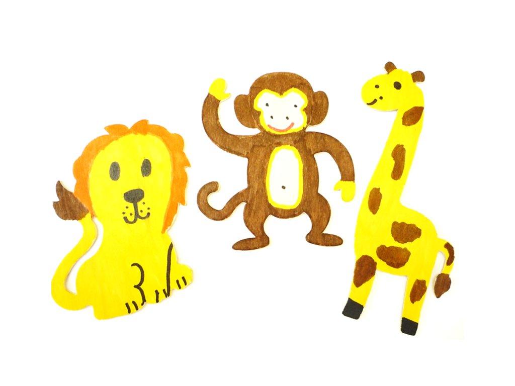 safari drevene4