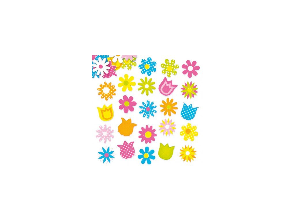 spring flower foam stickers AF298X