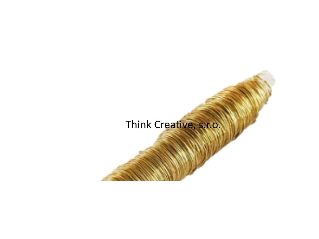 drátek zlatý TC