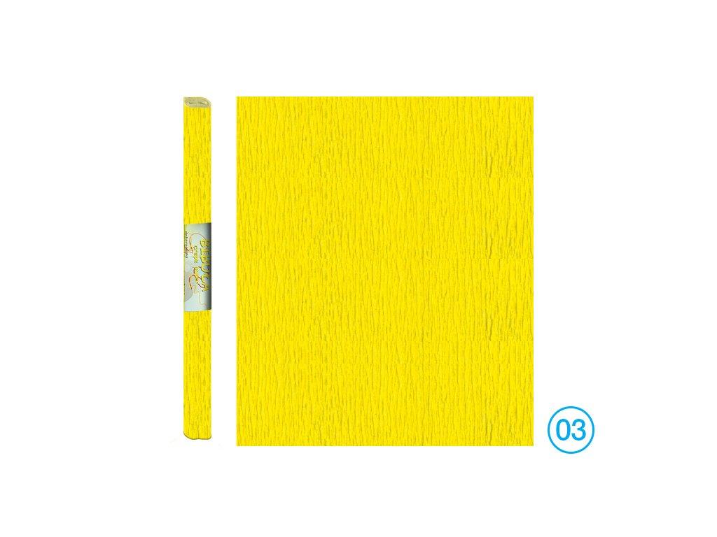 krepák žlutý