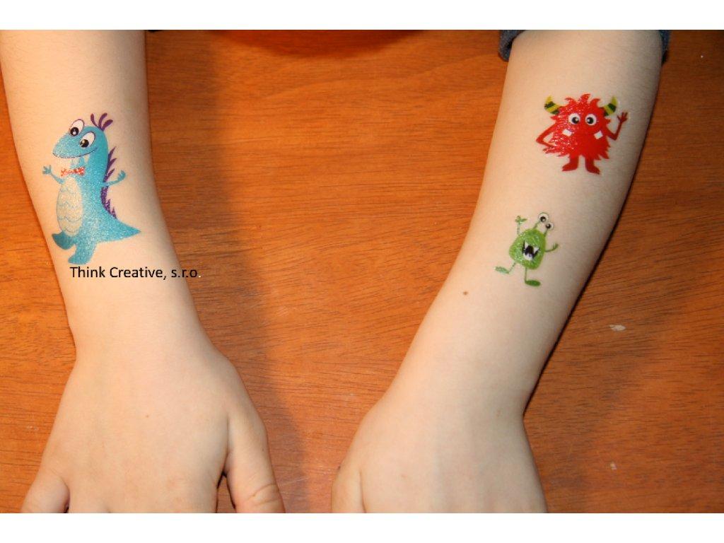 b7ab9caff03 Tetovací obtisky příšerky - Think Creative
