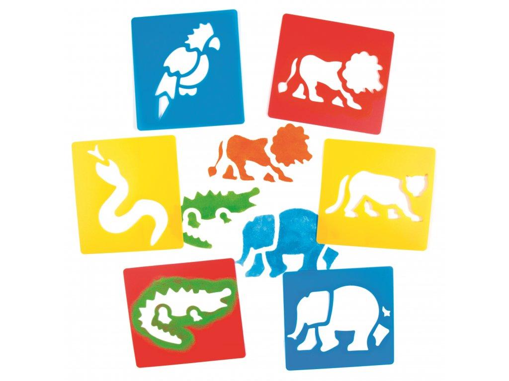 Šablony Safari