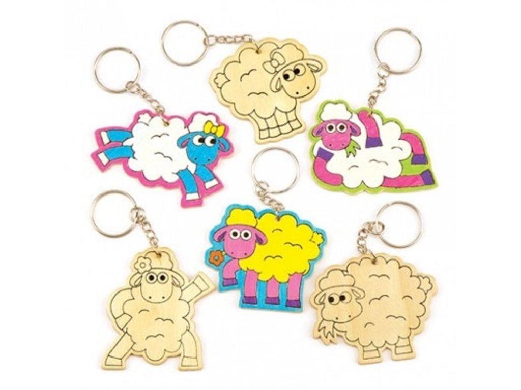 Veselé ovečky přívěsky
