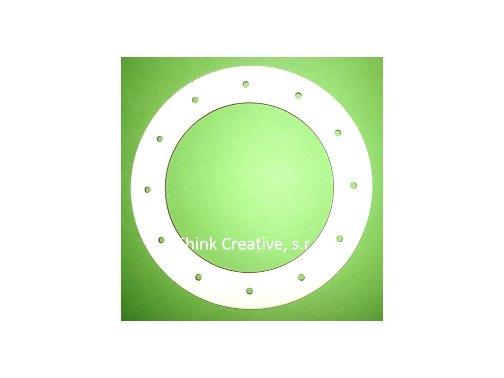 kruh dirky lapac drevo