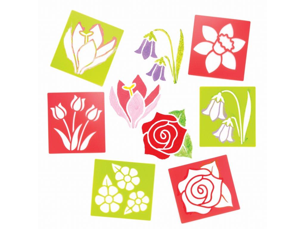 Kvetiny sablona 2