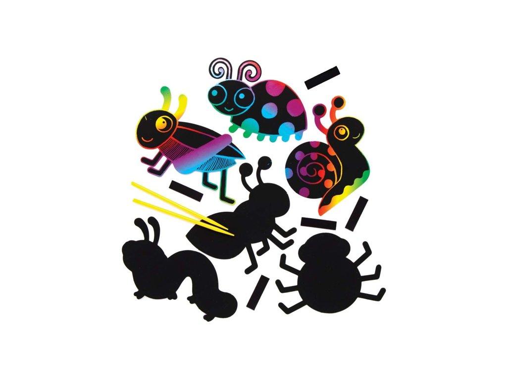 Hmyz vyškrabávaci