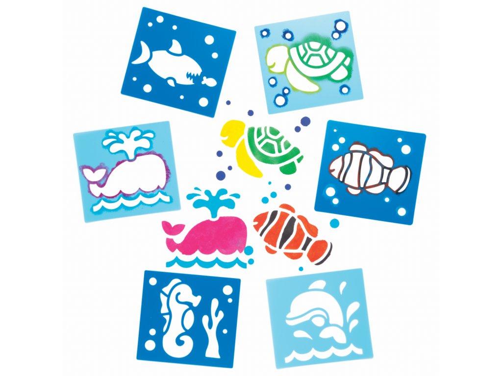 Sablony morsky svet