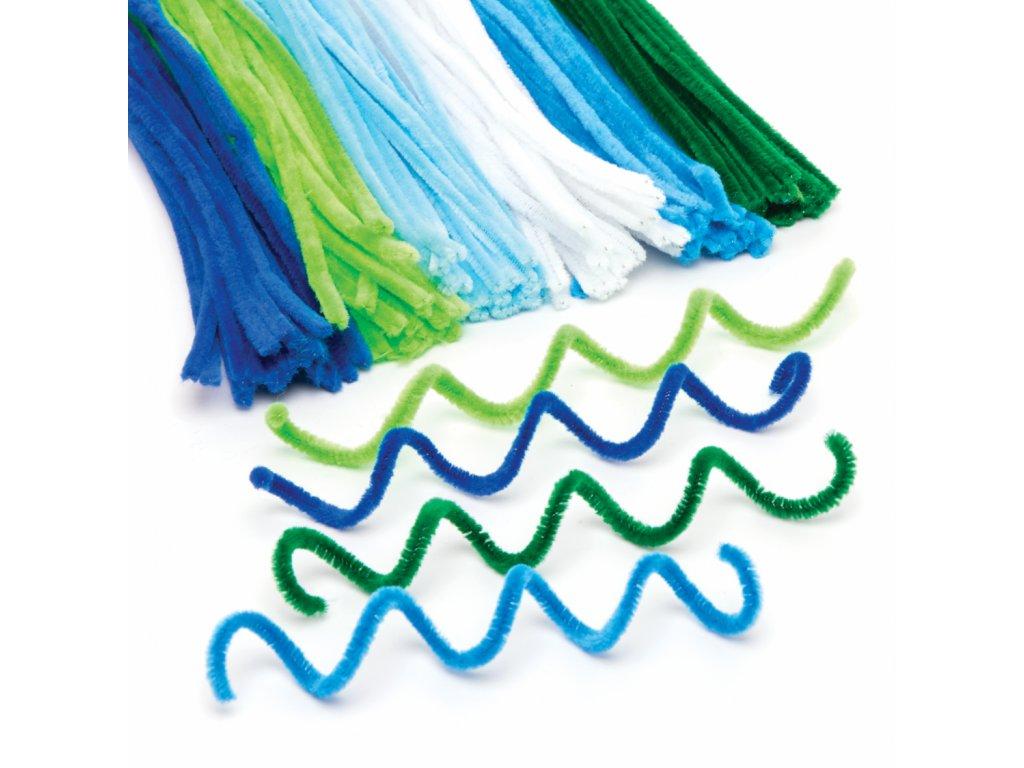 Dratky v barve more