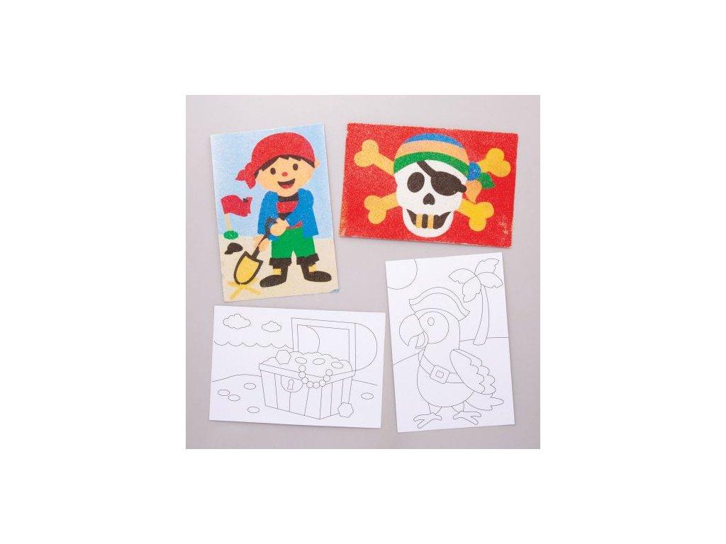 Piratske motivy piskove