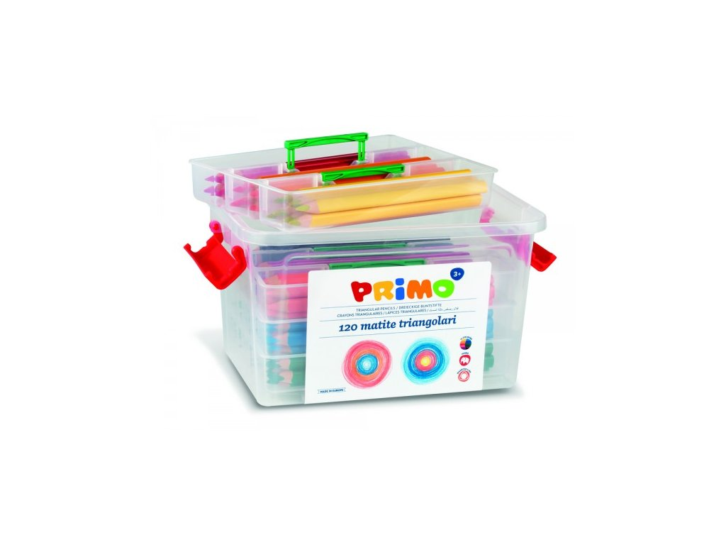 pastelky trojboke jumbo primo 120ks pp box