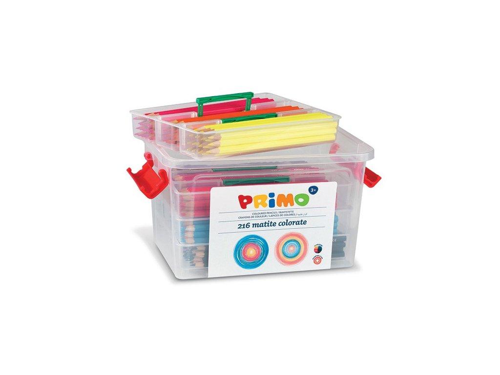 pastelky primo 216ks pp box