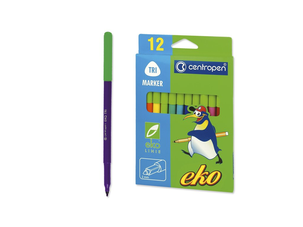 Fix sada EKO CENTROPEN 2560/12 set (12 ks)