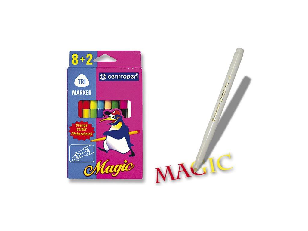Fix sada CENTROPEN MAGIC 8+2=16 2549/10 barev