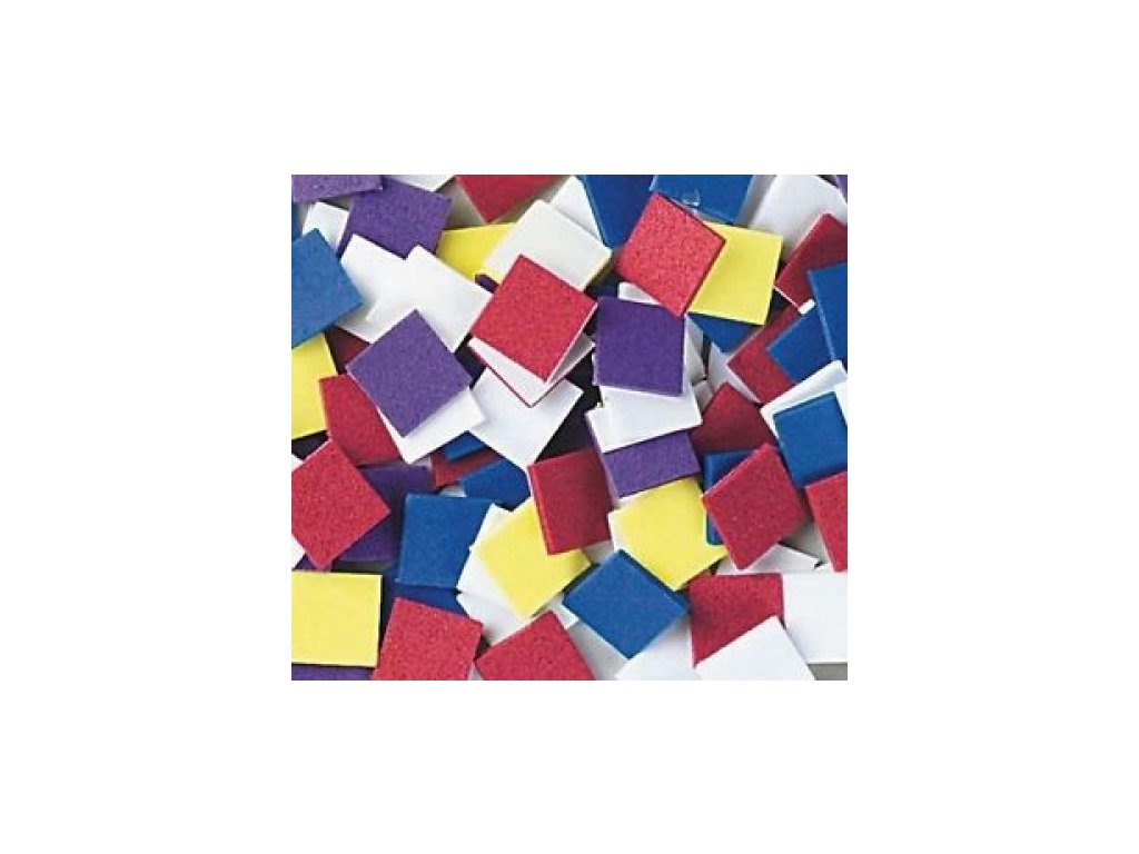 Pěnové samolepky Mozaika velká (250ks)