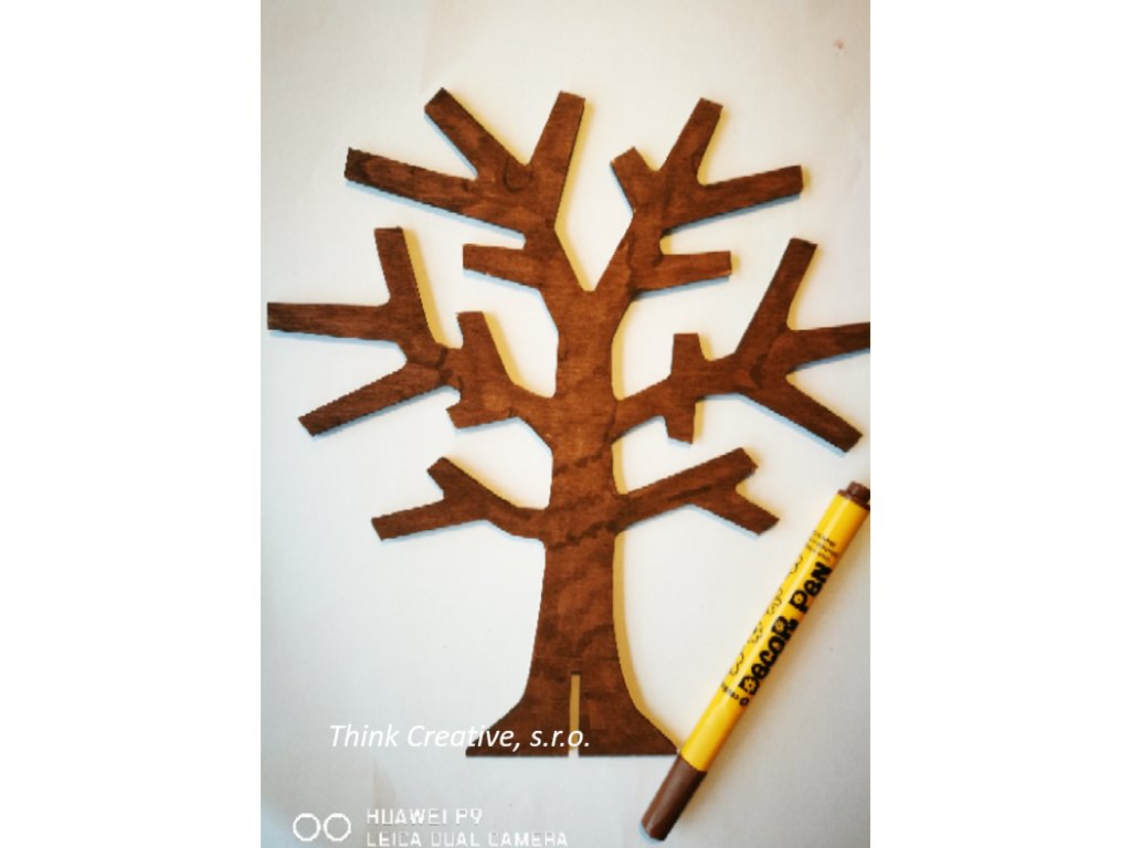 Decor Pen hnědý