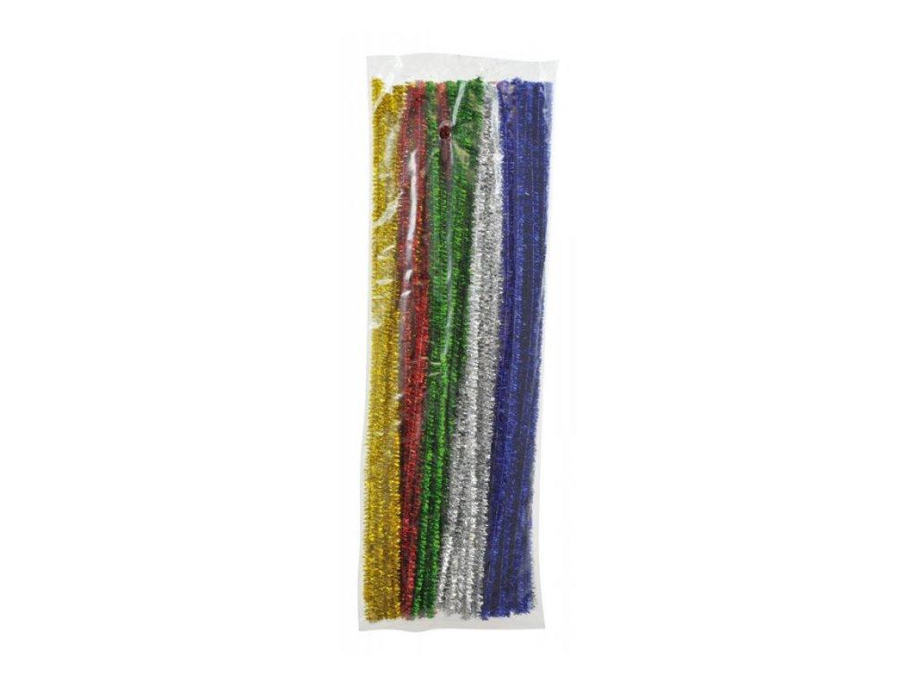 dratky zinylka barevne metalicke