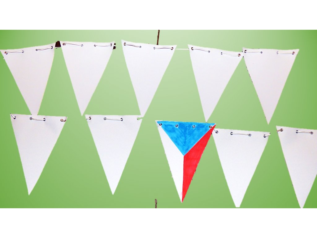 Vlajky - girlanda