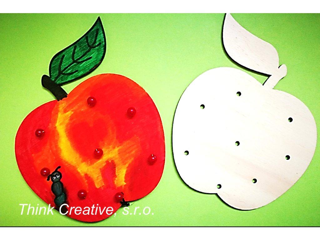 Jablko dreveny vyrez TC