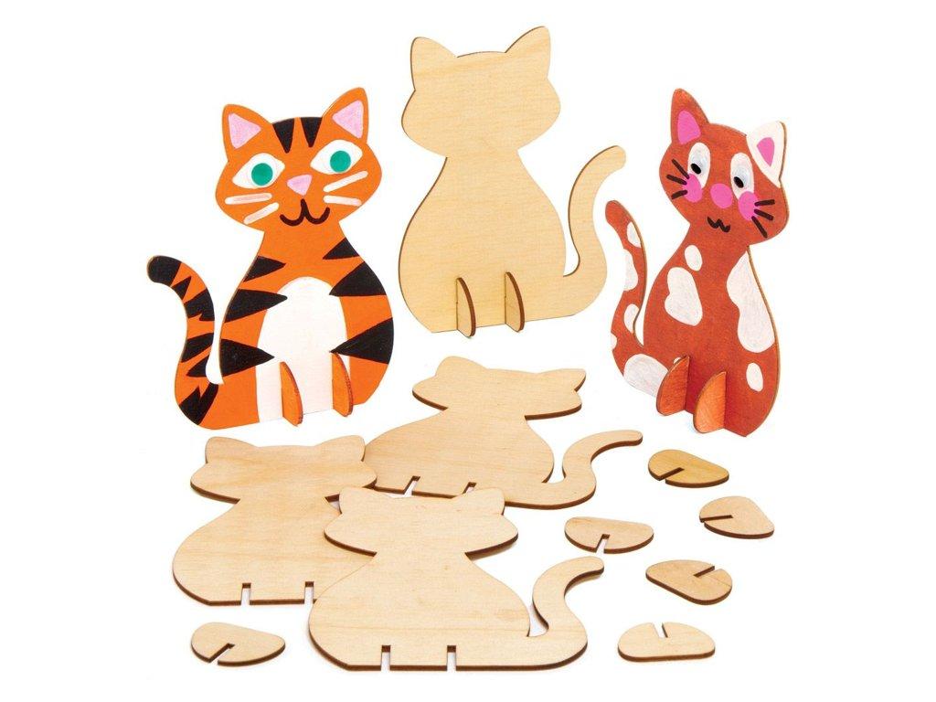 Kočičky dřevěné