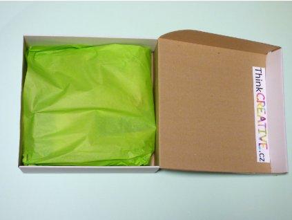 Balíček krabička otevřená