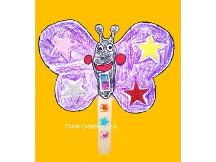 Motylek karton Think Creative, s.r.o.
