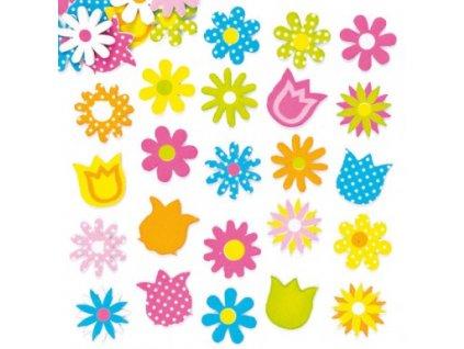 spring flower foam stickers AF298X