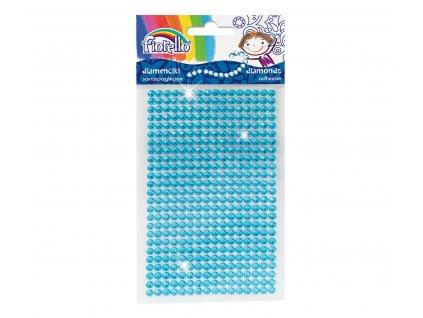 kamínky v proužcích modrá