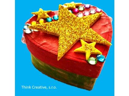 Krabicka srdicko Think Creative, s.r.o.