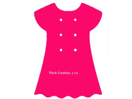 Šaty výřez Think Creative, s.r.o.