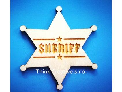 Sherif hvezda Think Creative, s.r.o.