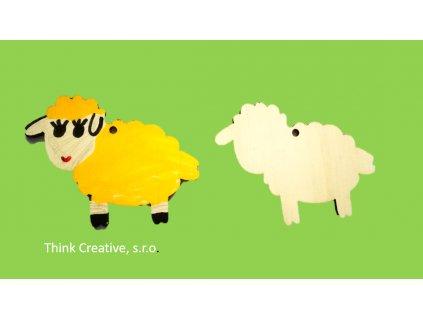 Ovecka drevena Think Creative, s.r.o.