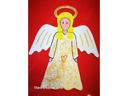 Anděl sablona