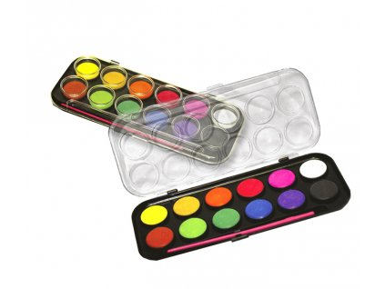 Barvy vodové CENTROPEN 12 barev 30mm - 9541
