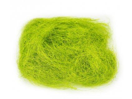 sisal zeleny