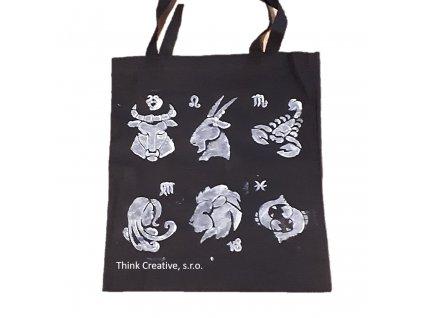 Taska textilni černá