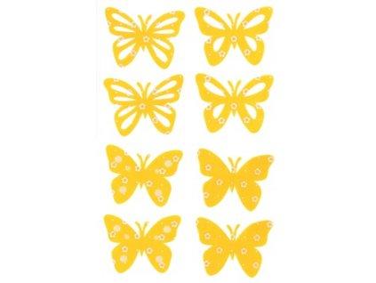 motylci zluti