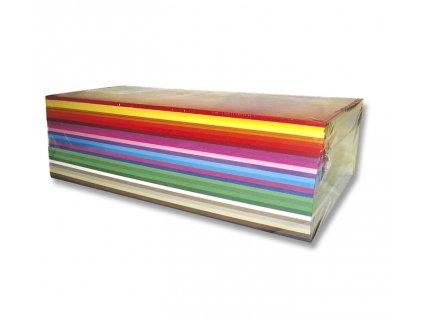 Papír A4 barevný 500ks mix