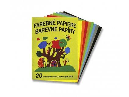 Papír barevný mix složka 20l