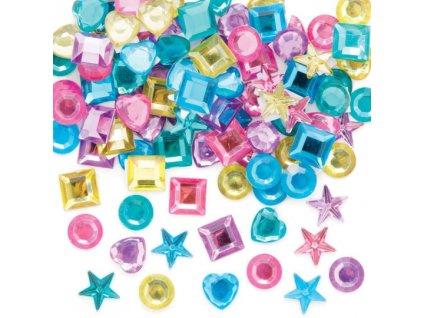 Kaminky pastelové