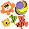 Talíře barevné na tvoření (36ks)