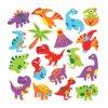 Pěnové samolepky Dinosauři (102ks) nové
